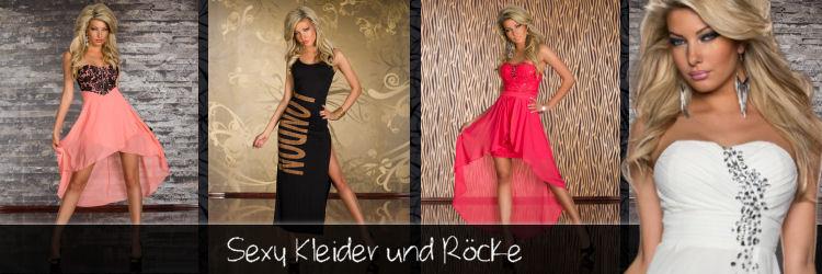 Trendstylez - Sexy Kleider - Minikleider - Miniröcke zu Hammer Preisen!