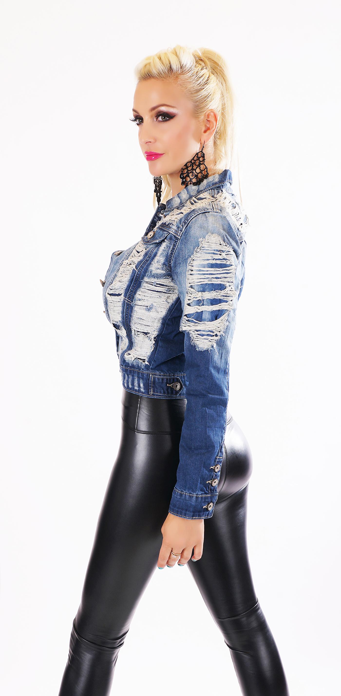 premium selection f2fe4 d02e3 Trendstylez - Vintage Jeansjacke