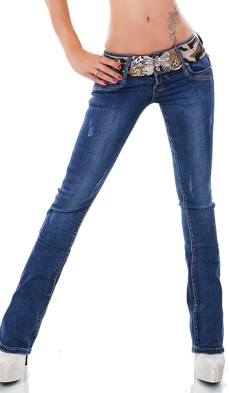 trendstylez stretch jeans mit used effekten. Black Bedroom Furniture Sets. Home Design Ideas