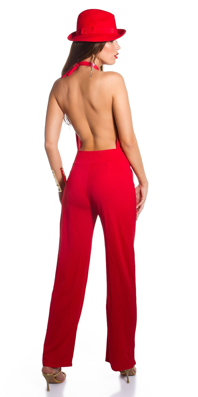 premium selection 2fa55 d097f OOHOT KouCla Party-Night  jumpsuit to tie  Color RED Size Onesize 0000K9175 ROT 15.jpg