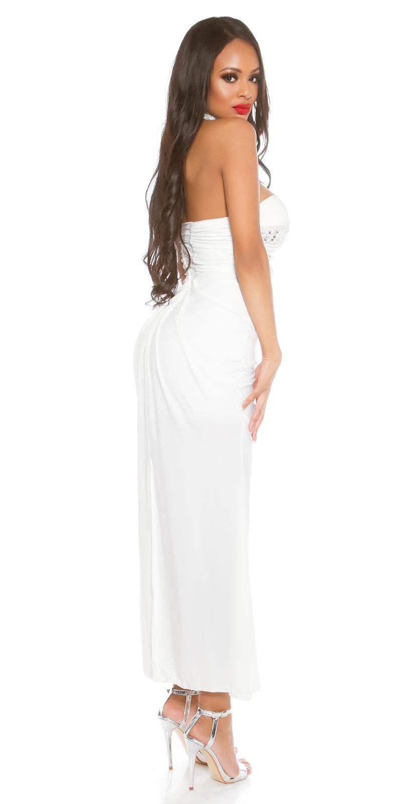 Trendstylez - Festliches Kleid mit Herzausschnitt und ...