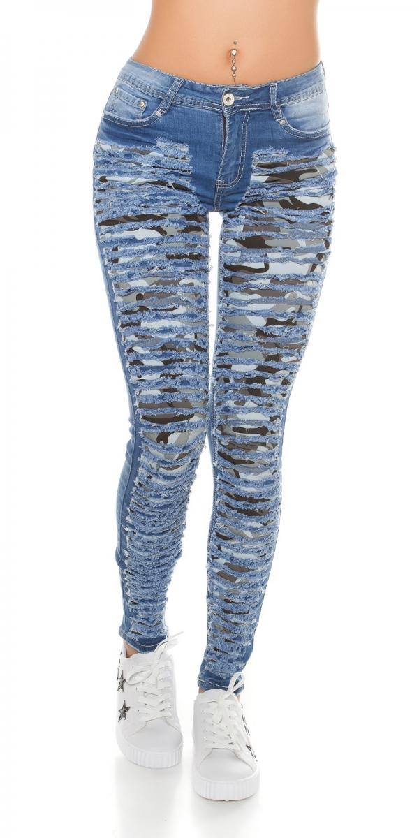 sexy vintage skinny r hren stretch jeans mit rissen. Black Bedroom Furniture Sets. Home Design Ideas
