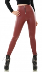 Longpullover mit Riss-Cut-Outs und Strass-Applikation in schwarz