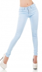 Modische Stretch Jeans in angel blue