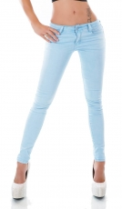 Modische Slim Fit Stretch Jeans in angelblue